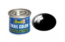 Revell Solid Black Gloss Enamel 14ml No.7