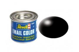 Revell Solid Black Silk Matt Enamel 14ml No.302