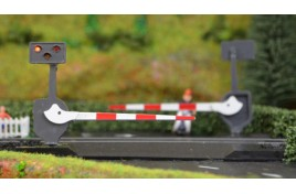 Level Crossing Barrier Set with Light & Sound Pair OO Gauge