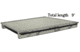2 x Wide (50mm) Platform Sections Plastic Kit