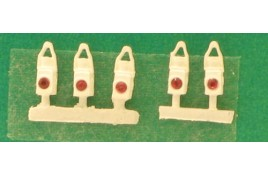 BR Tail Lamps x 5 OO Scale