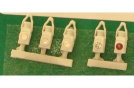 BR White Head & Tail Lamps x 5 N Scale