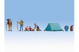 Camping with Tent OO/HO