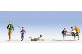 Anglers Fishing x 6 N Scale