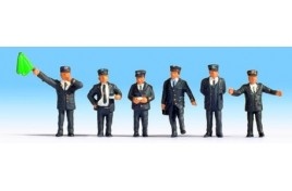 British Railway Staff (6) HO/OO Gauge