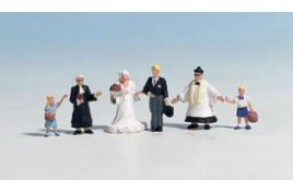 Wedding Group (6) Figure set HO/OO Gauge