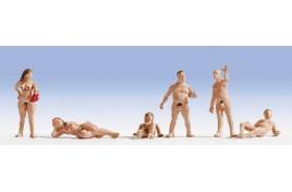 Nudist x 6 N Gauge