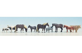 Farm Animals Pack of 9 OO/HO Scale