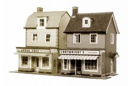 Two Country Town Shops Card Kit