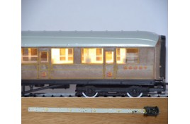 Coach Lighting Standard Strip - Warm White OO/HO Scale