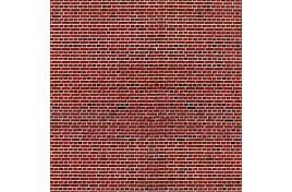 Brick Red Embossed Card OO/HO Scale