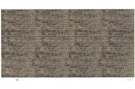 Dark Stone Embossed Card N Scale