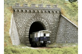 Single Track Tunnel Portal with Wing Walls HO/OO Scales