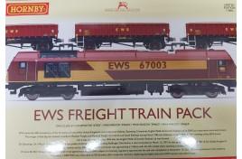 EWS Rail Freight Train Pack  OO Gauge