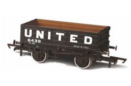 4 Plank Wagon United Collieries 5439 OO Gauge