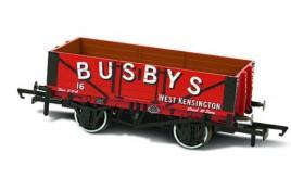 5 Plank Wagon Busbys West Kensington 16 OO Gauge