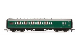 Maunsell Corridor Six Compartment Brake Second S2764S 'Set 230' BR OO Gauge