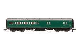 Maunsell Corridor Four Compartment Brake Second S3233S 'Set 399' BR OO Gauge