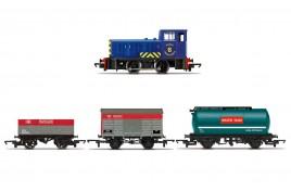 Diesel Freight Train Pack  Railroad  OO Gauge