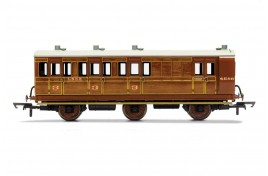 Brake 3rd Class LNER 4589 6 Wheel Coach OO Gauge