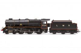 LMS, Patriot Class, 4-6-0, 5521 'Rhyl' - Era 3 OO Gauge