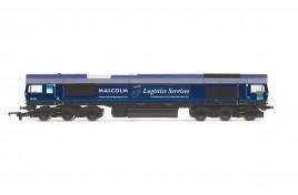 Malcolm Logistics co-co , Class 66, Co-Co, no 66405  OO Gauge