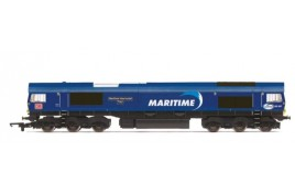 DB Cargo UK, Class 66, Co-Co, 66047 'Maritime Intermodal Two'  OO Gauge