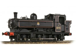 GWR 8750 Pannier Tank 8771 BR Lined Black (Early Emblem) OO Gauge