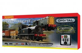 Mixed Freight Digital Train Set OO Gauge