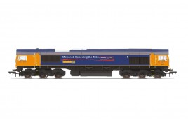 GBRf, Class 66, Co-Co, 66721 'Harry Beck' - Era 11 OO Gauge