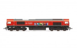 DB, Class 66, Co-Co, 66113 'Delivering For Our Key Workers' - Era 11 OO Gauge