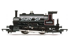 BR Black 0-4-0ST 'Smokey Joe' OO Gauge - Railroad