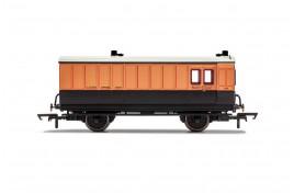 LSWR Brake Baggage  4 Wheel Coach OO Gauge