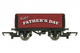 Fathers Day Wagon Red OO Gauge