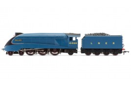 RailRoad, LNER, A4 Class Mallard, 4-6-2, 4468 with TTS Sound OO Gauge