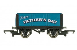 Fathers Day Wagon Blue OO Gauge