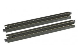 Unitrack (S186P) Straight Ash Pit Track 186mm 2pcs N Gauge