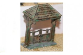 Lych Gate (Painted) OO Scale