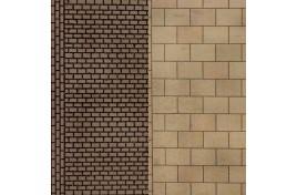 Paving & Cobblestones (8 sheets) N Scale