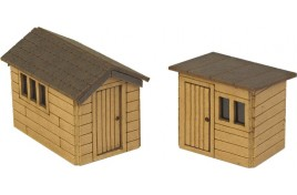 Garden Sheds N scale