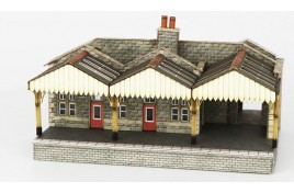 Parcels Office and Waiting Room N Scale