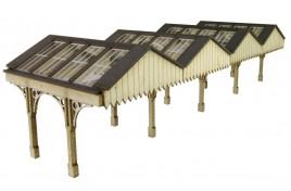 Platform Canopy N Scale