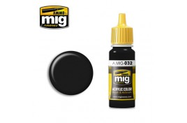 Satin Black Acrylic Paint 17ml