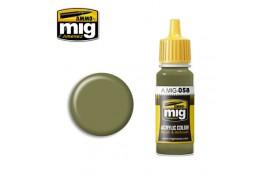 Light Green Khaki Acrylic Paint 17ml