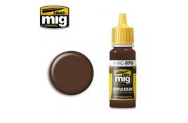 Medium Brown Acrylic Paint 17ml