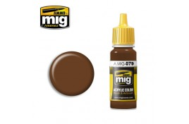 Clay Brown Acrylic Paint 17ml