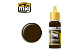 Burnt Brown Red Acrylic Paint 17ml