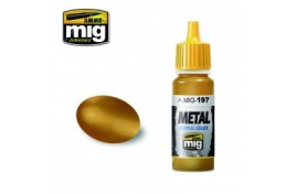 Brass Metallic Acrylic Paint 17ml