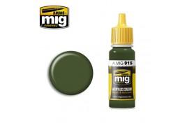 Dark Green Acrylic Paint 17ml