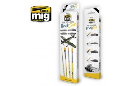 Mig Panel Lines and Fading Brush Set Pack of 4